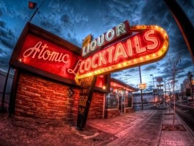 Atomic liquors happy hour