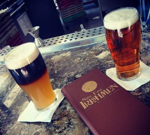 Join The Happy Hour At Nine Fine Irishmen At New York New