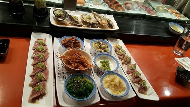 Join The Happy Hour At Biwon Korean Bbq Sushi Restaurant